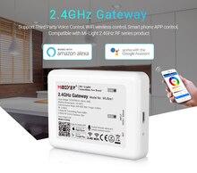 LED MI.RGB + สีขาว + สีขาวอุ่น + CCT หลอดไฟไร้สาย WIFI 4.0 IBOX 2 Android / IOS APP