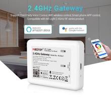 LED Mi.light RGB + أبيض + أبيض دافئ + CCT لمبة وحدة تحكم لاسلكية واي فاي 4.0 IBOX 2 متوافق أندرويد/IOS APP