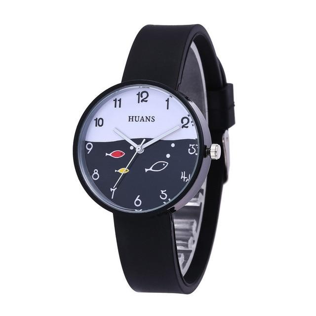 Montre de luxe pour enfants Silicone vie étanche enfants montres pour 3-12 ans utiliser bébé garçons filles fête danniversaire cadeau horloge