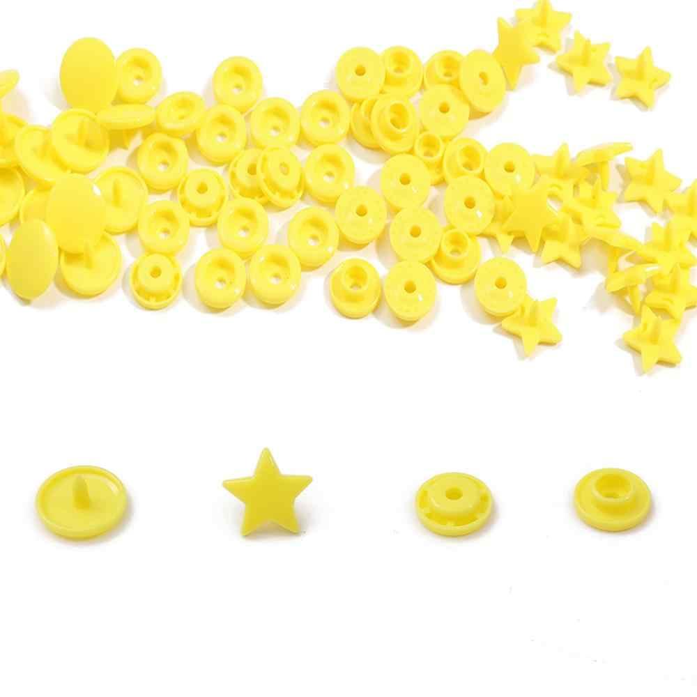 Kolorowe przyciski KAM Star Heart przyciski z żywicy zapięcie zatrzaski dla niemowląt tkaniny akcesoria do szycia odzieży