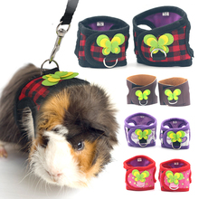 Traction-Rope Harness Pet-Hamster Small Leash-Belt Cloth Chest-Strap Breathable Outdoor
