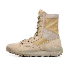 Tactical Boots Men Light Weight Outdoor Hiking Shoes Desert
