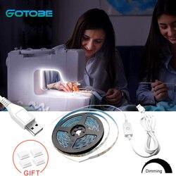 Водонепроницаемая гибкая светодиодная лента для швейной машины, 60 светодисветодиодный Дов, 1 м