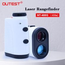OUTEST Telescopio Telemetro Laser 400m di Distanza Laser Metro 7XMonocular Golf caccia Laser Range Finder Misura di Nastro Roulette