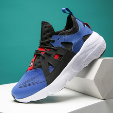 Couple Shoes Running Sneakers No-Slip Lightweight Comfortable Luminous Lac-Up Men