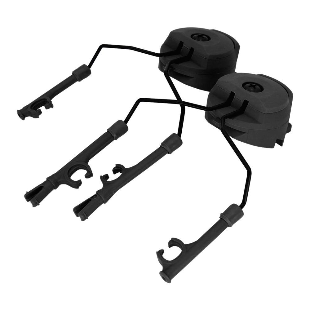 Military Peltor Helmet Headset Bracket and Fast Ops Core Helmet  ARC Rail Headset Adapter for Airsoft Headphones comtac i ii iii
