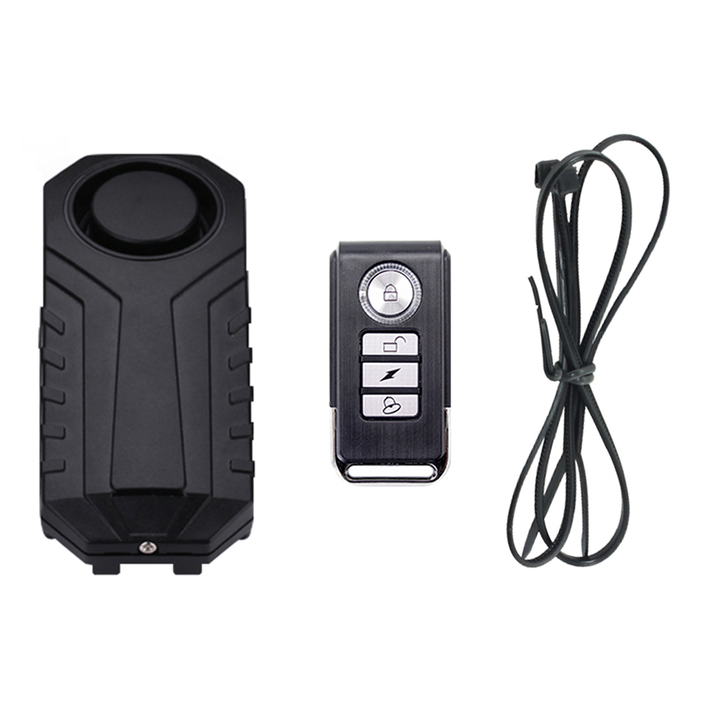 Waterproof Remote Control Bike Motorcycle Electric Car Vehicle Security Anti Lost Remind Vibration Warning Alarm Sensor 5