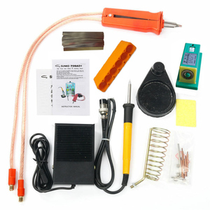 Image 5 - SUNKKO 3.2KW 709AD+ spot welder machine pulse spot welding for 18650 battery pack Production with welding pen and soldering iron