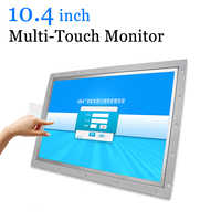 10,4 zoll Multi Touch LCD Monitor Open Frame Indus Monitor mit Kapazitiven Touchscreen