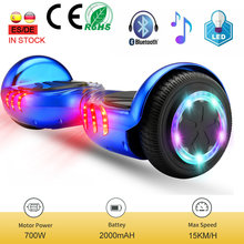 6.5 Inch Kids Hoverboard Barato Bluetooth Smart Two Wheels Self-Balance Board For Children With LED hoverboard Skate Eletrico