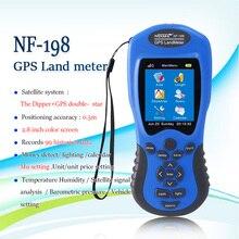 Gps метр земли NF-198 gps съемочного оборудования используют для сельскохозяйственных угодий обследован дисплей измерения значение