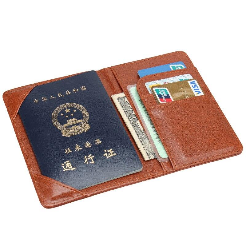 Jiexi Star Luxury BG Flag Badge Passport Cover Case ID Holder Traverl Accessories Passport Wallet Clip ZSPC40