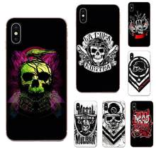 Metal Mulisha For Samsung Galaxy A51 A01 A81 S9 S8 Plus S20 S10 Plus A50 A70 A40 A71 Soft TPU Mobile Phone Case Cover(China)