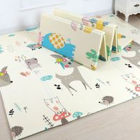 Play Mat Baby Crawling Mat Playmat Xpe Puzzle Mat Baby Carpet Children's Mat Baby Room Rug Crawling Pad Foldable Mat