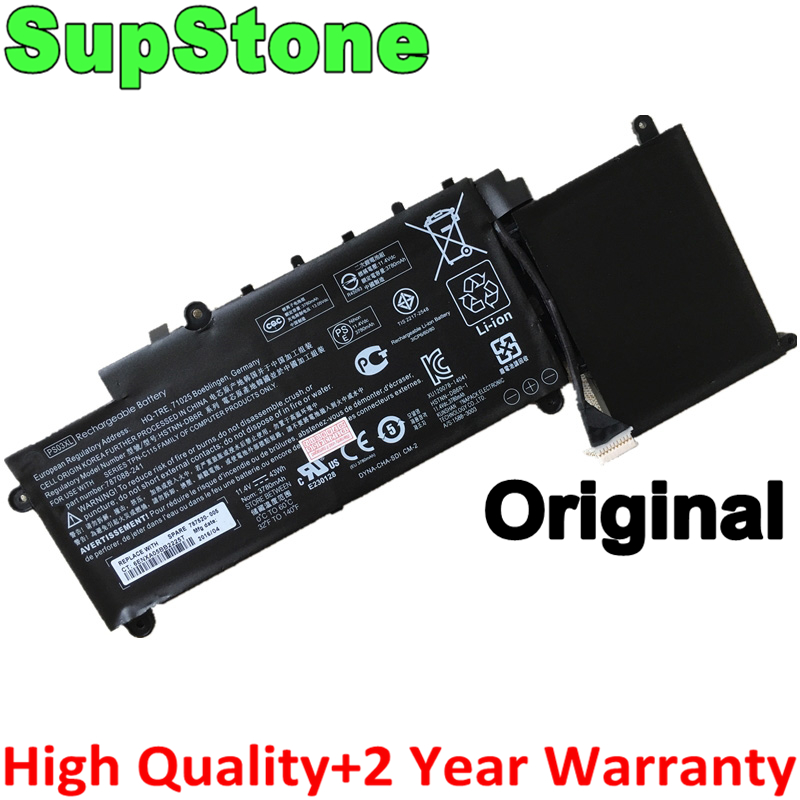 SupStone Original PS03XL HSTNN-DB6R 787520-005 Laptop Battery For HP TREAM X360, 11-P015WM 787088-241,for Pavilion X360 310 G1