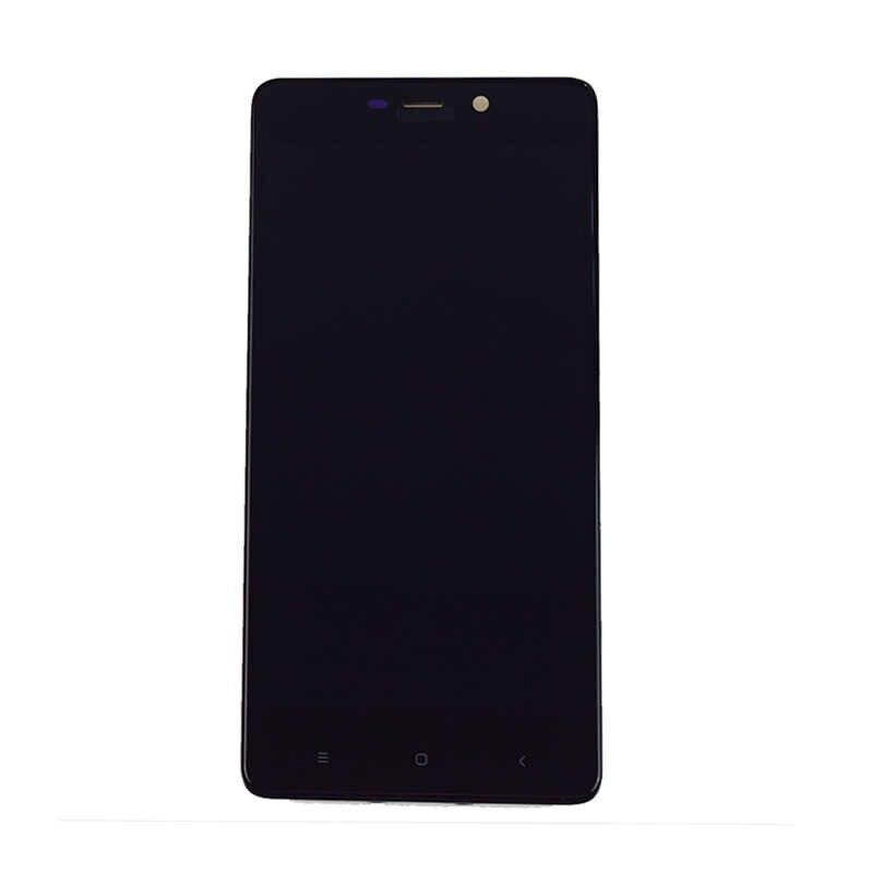 Para Xiaomi Redmi Redmi 4 Pro LCD 4 Prime Lcd Módulo Tela Painel + Tela de Toque Digitador Sensor de Vidro quadro montagem