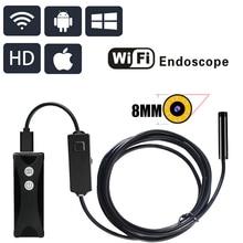 WIFI Endoscope Camera 720P HD 1200P Wireless wi-fi endoscopic camera Borescope Camera For Android PC IOS endoskop smartphone