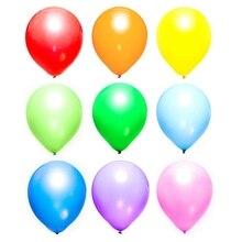 Вечерние воздушные шары 12 дюймов набор в цветах радуги(100 упаковка), разноцветные воздушные шары оптом сделаны сильный латексный гелиевый воздух использования, шарики ко дню рождения