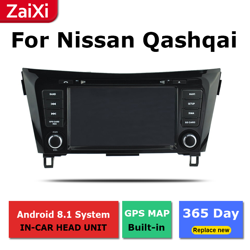 2 Din Android radio bluetooth GPS Navigation wifi Stereo video For Nissan Qashqai X Trail 2013 2019 Car Multimedia Player in Car Multimedia Player from Automobiles Motorcycles