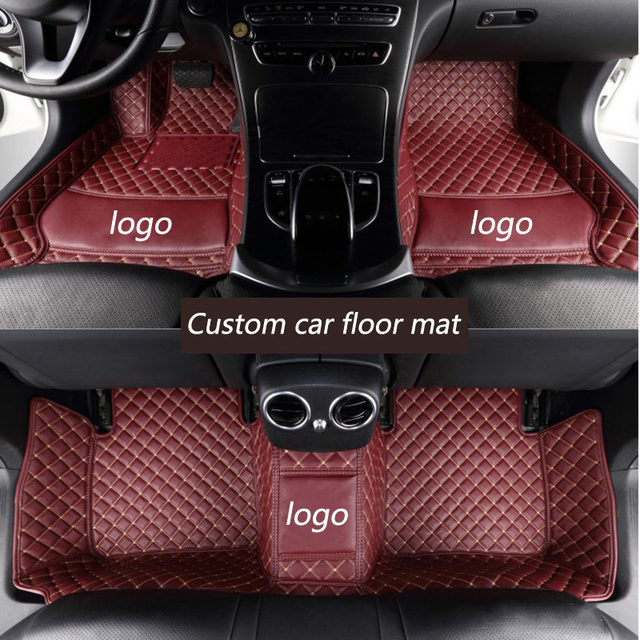 kalaisike Custom car floor mats for Porsche All Models Cayman Macan Panamera Cayenne Boxster 718 car styling accessories