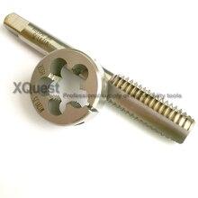 HSA parafuso rosca Métrica conjunto torneira Morrer M1.2 M1.4 M1.6 M2 M2.5 M2.6 M3 M4 M5 M5.5 M6 M7 M8 M10 M11 M12 morre para o aço inoxidável