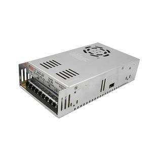 Image 5 - CNC close loop kit Nema 34 86HB250 156B 12Nm close loop servo Motor & HBS860H Hybrid servo driver+400w power supply for CNC