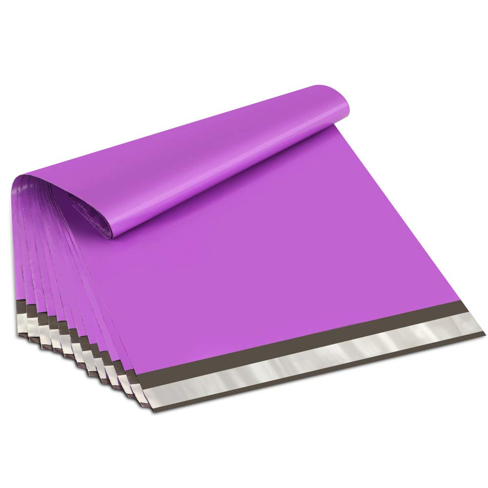 50Ppcs/lot Purple Plastic Envelope Self-seal Adhesive Courier Storage Bags Plastic Poly Envelope Mailer Shipping Bags