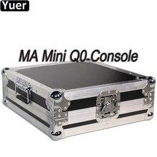 MA Mini Q0 konsola DMX kontroler oświetlenia scenicznego DMX512 LED ruchoma głowica Par światło stroboskopowe kontroler dla DJ dyskoteka kolumna świetlna