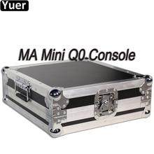 MA 미니 Q0 DMX 콘솔 무대 조명 컨트롤러 DMX512 LED 이동 헤드 파 스트로브 라이트 컨트롤러 DJ 디스코 파티 바 조명