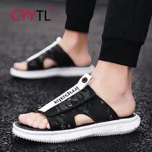 Cyytl/модные мужские сандалии; Шлепанцы; Повседневные шлепанцы