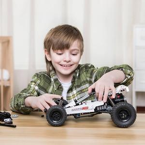 Image 5 - Xiaomi Mijia  Building Blocks Desert racing 6 Years Old Children Puzzle Educational Kids Toys