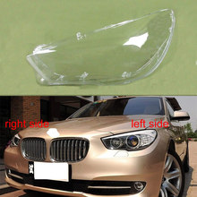 For BMW 5 Series F07 2010 2017 GT525 GT530 GT535 GT550 Front Headlights Cover Lampshade Headlamp Shell Headlight Cover Lens