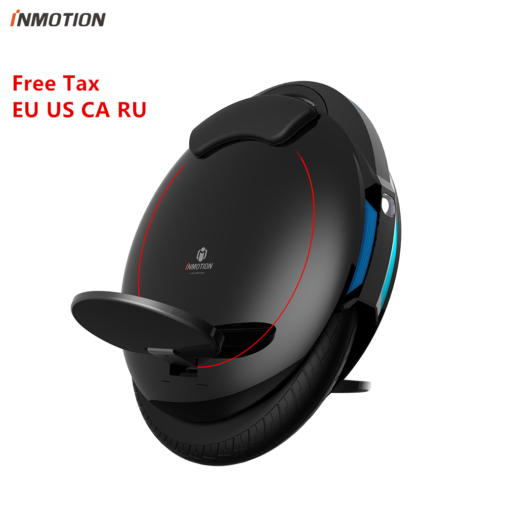 Original INMOTION V5F Self balancing Scooter EUC Electric Unicycle Monowheel With Decorative Lamps Hoverboard Skateboard