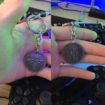 O último de nós 2 chaveiro logotipo firefly tag do cão chaveiros joel ellie chaveiro chaveiro bugigangas corrente atacado