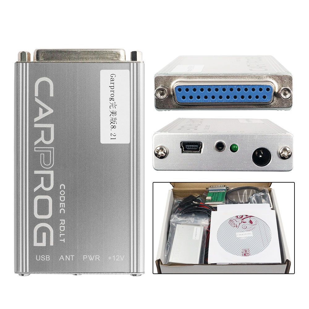 Image 4 - DHL Carprog V8.21 Online Version Auto Repair Tool Full Set Car  Prog Firmware 8.21 Ecu Chip Tuning Tool Better Than Carprog 10.93Code  Readers