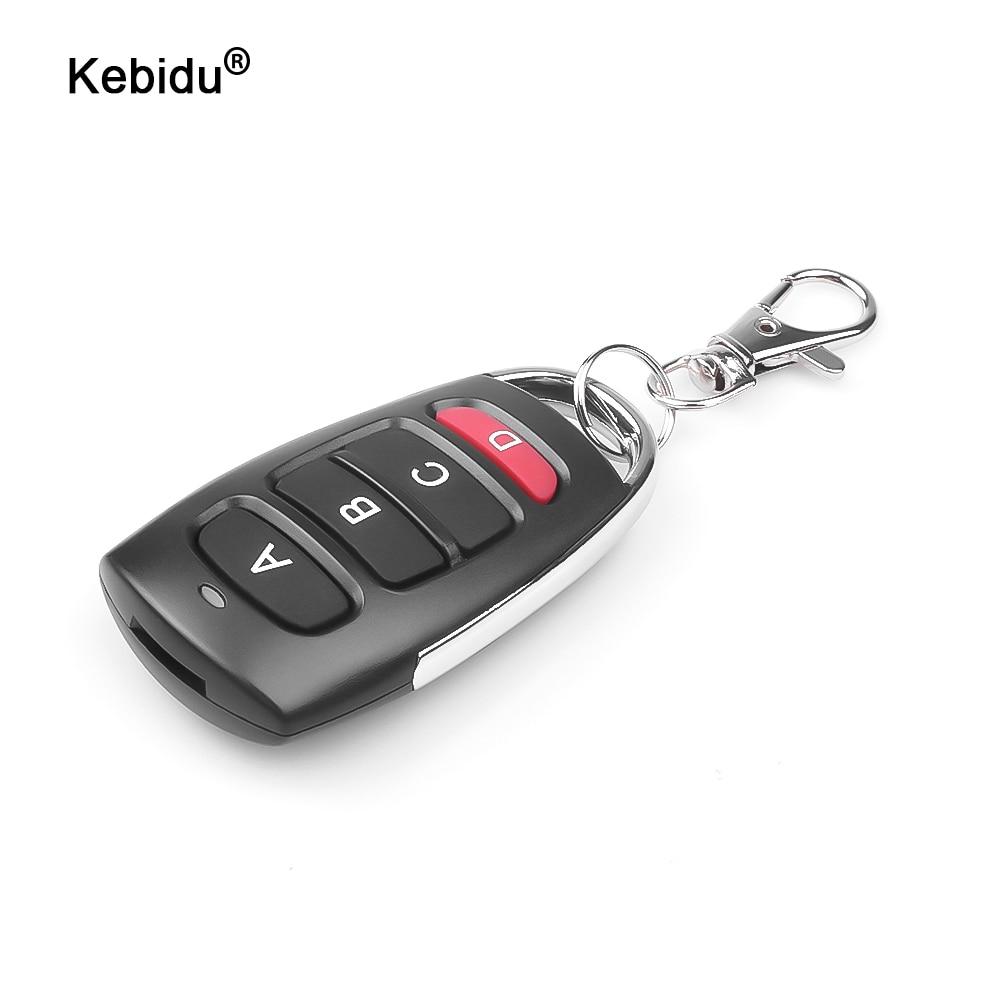 Kebidu 433 МГц Портативный Дубликатор ключей авто клонирования пульт дистанционного управления воротами Управление для двери гаража дистанцио...