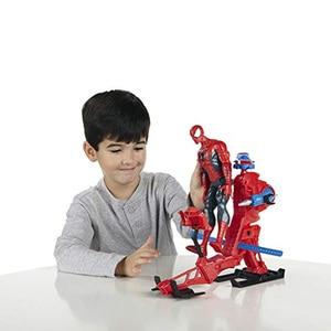 Image 4 - Marvel Legends 30cm Spiderman zestaw zabawek Titan Hero Series Copter figurka 11.8 cali prezenty na nowy rok zabawki dla chłopców