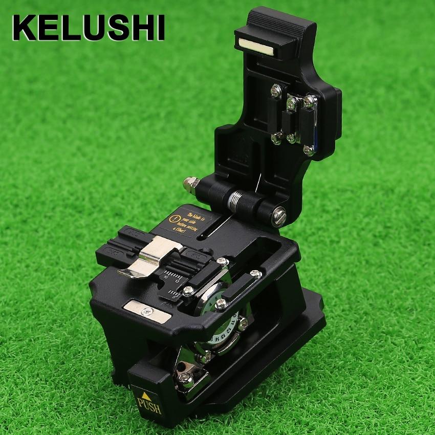 KELUSI High Precision cutting tool SKL 8A Optical Fiber Cleaver Cable Cutting KnifeFiber Optic Equipments   -