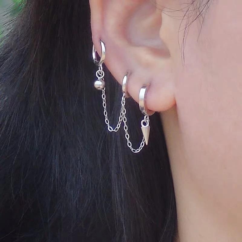 Ohrlöcher 3 ohrringe für Ohrringe bei
