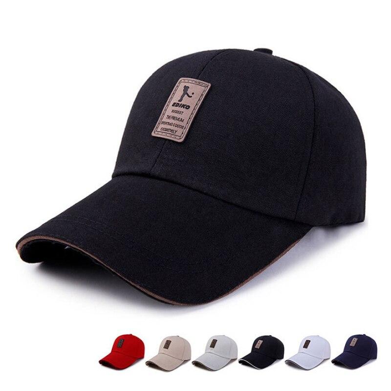 8 Color Summer Adjustable Baseball Caps For Women Men Cotton Casual 2020 Sports Hats Letter Bone Snapback Fashion Boy Hat Caps