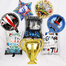 Balloons Baloes Party-Decorations Happy-Father's Quiero-Foil-Balls Helium Globos Spanish