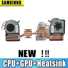 Novo original para asus strix tuf 6 fx505gm fx705gm fx86sm fx705du fx505du fx86du portátil cpu gpu ventilador de refrigeração dissipador de calor