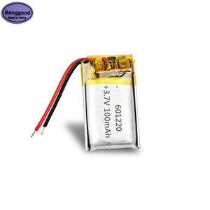3,7 V 100mAh 601220 061220 Lipo полимерный литий-ионный аккумулятор ячейки подходят 601221 061221 модель игрушки Powerbank батарея