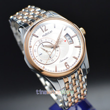 41MM Huboler white Dial Gold 24 hours sapphire Automatic Mechanical Watches  Mens watch