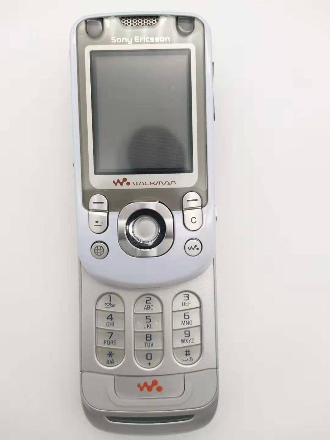 W550 100% Original Unlocked Sony Ericsson W550i Mobile Phone 2G Bluetooth FM Unlocked Cell Phone Free shipping