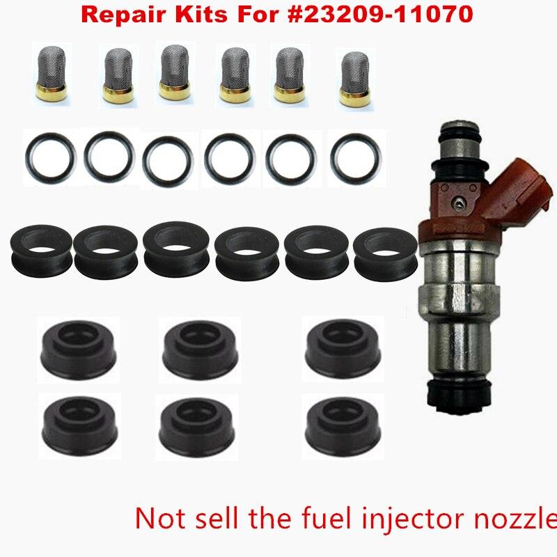1x New *TOP QUALITY* Fuel Injector Repair Kit For Lexus ES300 MCV20 3.0L 1MZ-FE