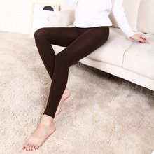 Ankle Length Winter Slim Leggings Cashmere Warm Thick Footless Skinny Elastic Stretch Pants for Women ving winter casual leggings women fashion stretch slim ladies leggings ankle length black