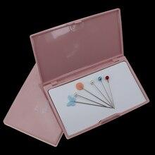 1 шт. Магнитная Стрелка коробка для хранения ручная вставка пластиковая игла вышивка прямоугольный Органайзер контейнер