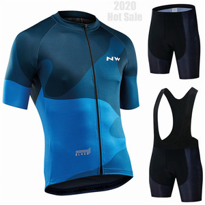 2020 Northwave Pro Team Cycling Clothing /Road Bike Wear Racing Clothes Quick Dry Men's Cycling Jersey Set Ropa Ciclismo Maillot