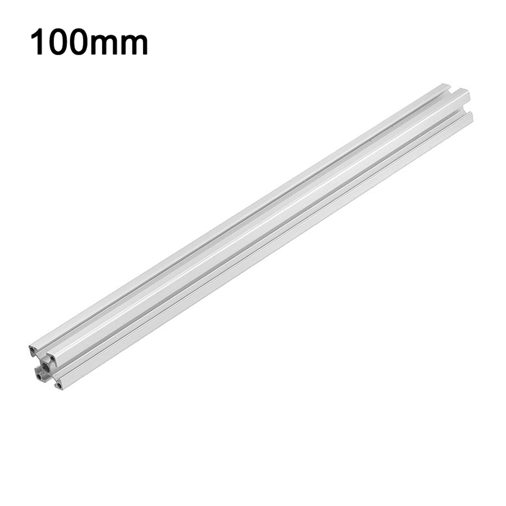 100-550mm 2020 T-Slot Aluminum Profile Extrusion Frame for CNC Laser Engraving Machine 3D Printer Ca